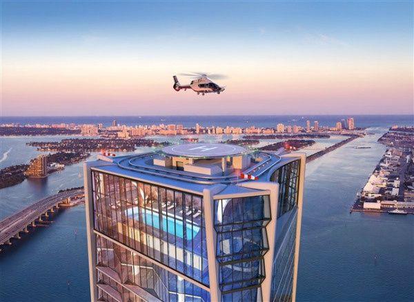 1000 Museum Miami-Eigentumswohnungen zu verkaufen