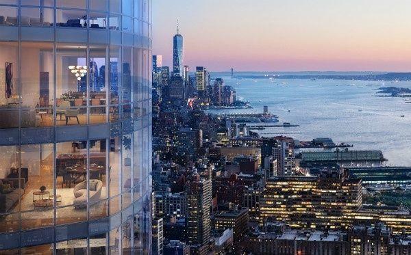15 Hudson Yards NY-Wohnungen zu verkaufen