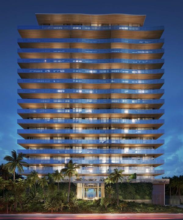 57 Ocean Miami Beach Gebäude