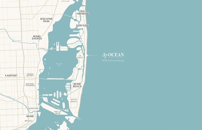 57 Ocean Miami Beach Eigentumswohnungen zu verkaufen