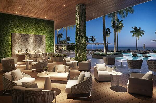 57 Ocean Miami Beach Pool-Lounge