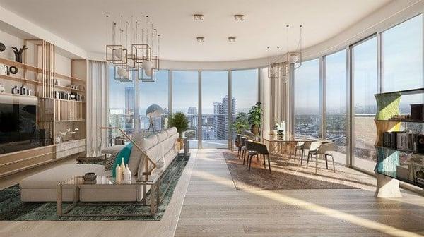 Flatiron Penthouse Miami Eigentumswohnungen zu verkaufen Brickell