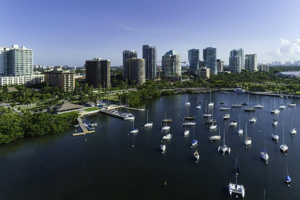 Kokosnusshain Miami Immobilien