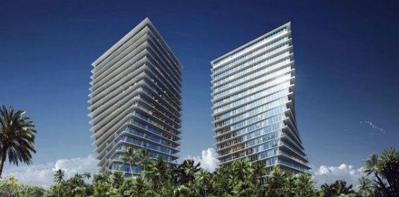 Luxusgebäude in Miami
