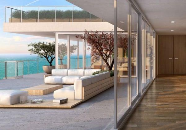 Oceana Bal Harbour Miami-Eigentumswohnungen zu verkaufen