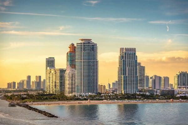 Miami Beach oder Downtown Miami Immobilien