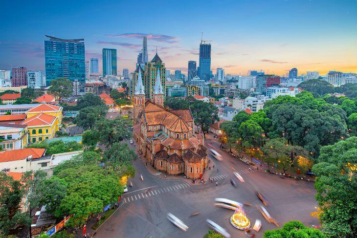Saigon Ho-Chi-Minh-Stadt