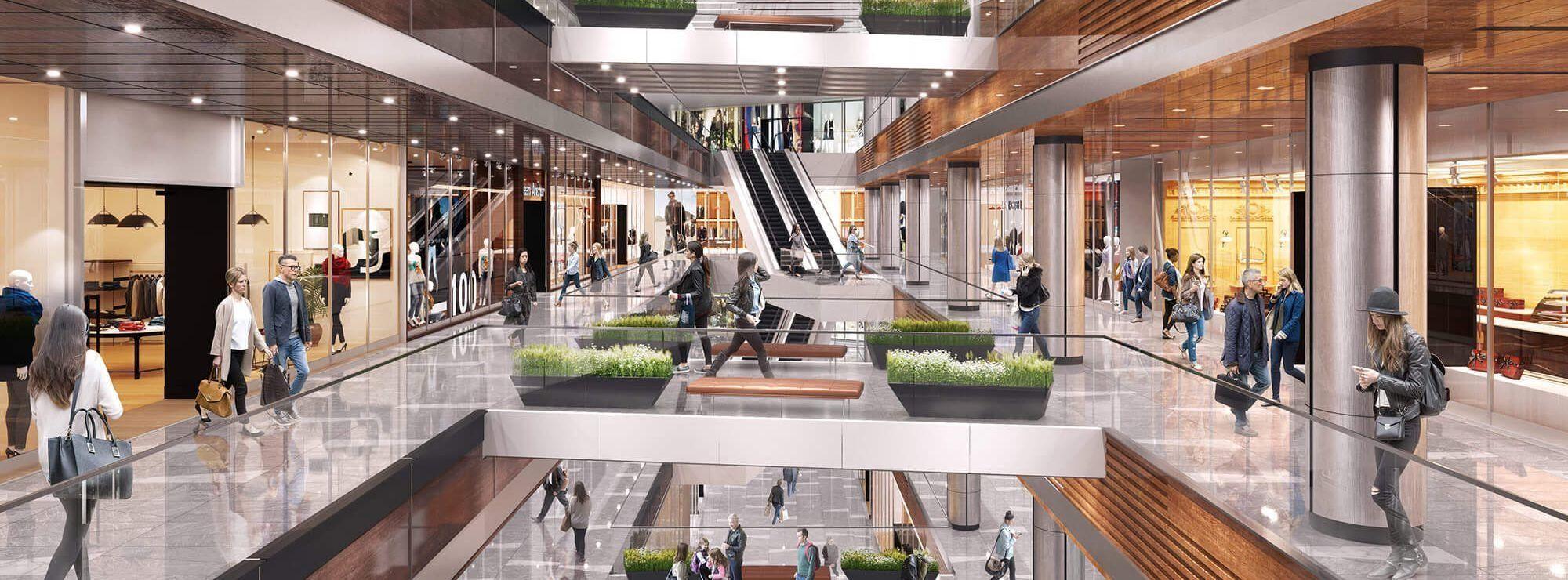 Die Geschäfte in Hudson Yards NYC