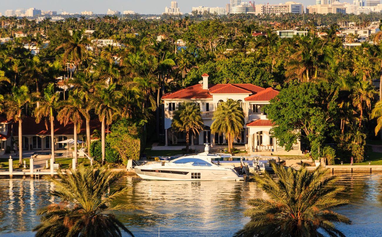 Miami-Villen zu verkaufen